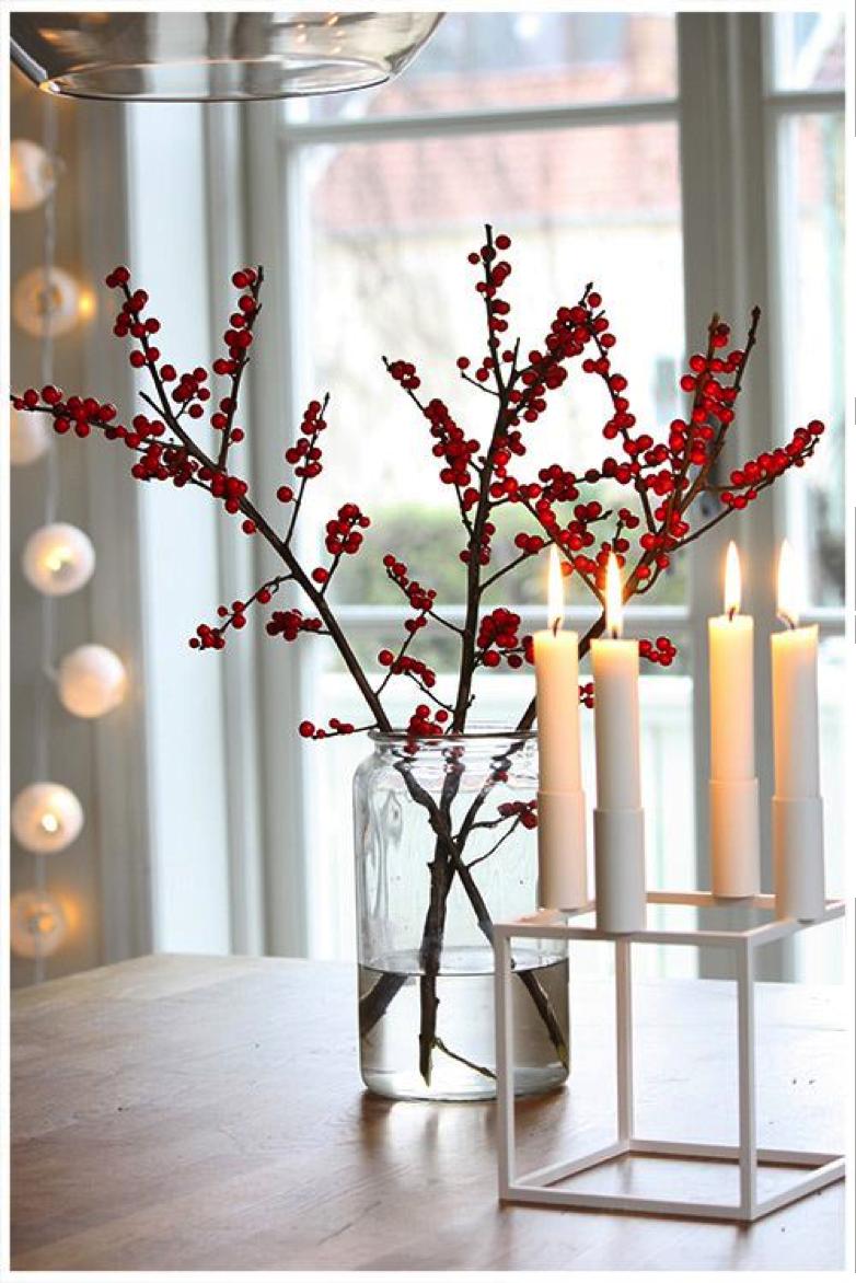 Wird es gelb rot orange oder rosa toll was blumen machen - Superb modern christmas decor ideas ...