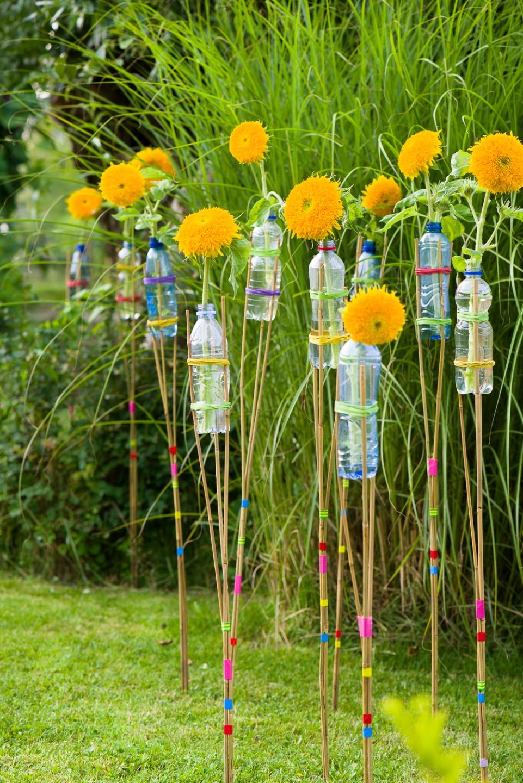 Zonnebloemen als stralend middelpunt in je tuin mooi wat for Gerbera in de tuin